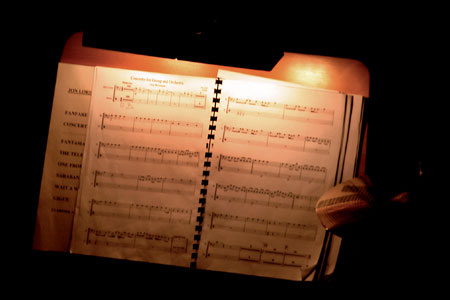 Hagen Concerto manuscript