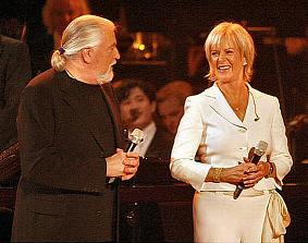 Jon Lord with Frida