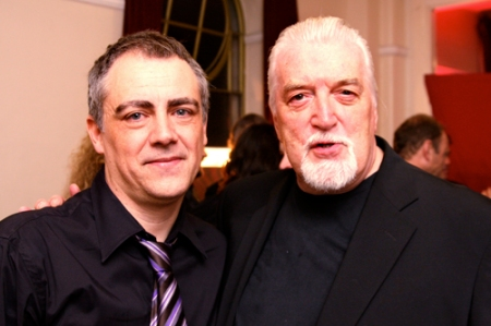 Jose Ricardo Diniz and Jon Lord at The Sunflower Jam 2008