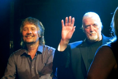Don Airey and Jon Lord shared keyboard duties with Deep Purple at Sunflower Jam 2008