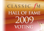 Classic FM Hall of Fame 2009