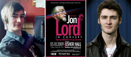Thomas Temple, Jon Lord poster Edinburgh, Grant Kilpatrick