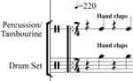 Unsuare Dance Full Score - excerpt