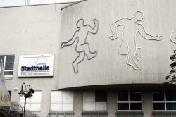 Stadthalle in Oer Erkenswick where Jon  recorded the Sarabande album in September 1975
