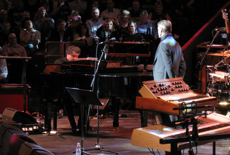 Paul Mann accompanying Jeremy Irons on Afterwards. Photo: Andrey Gusenkov