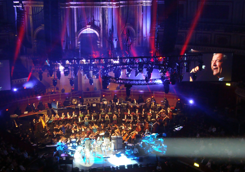 Deep Purple celebrating Jon Lord at Royal Albert Hall. Photo: Ariadne Moraes