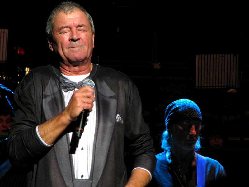 Ian Gillan and Roger Glover. Photo: Moth Clark