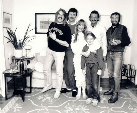 Jon Lord with Pete York and Tony Ashton. Photo: private