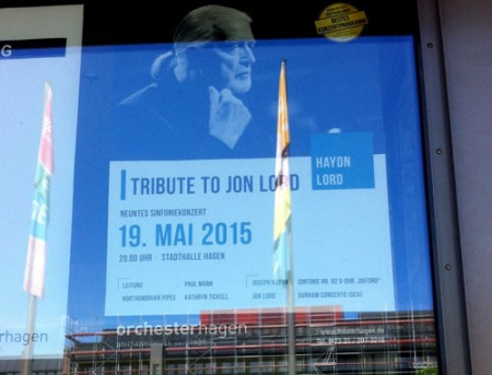 Jon Lord present in Hagen, Germany